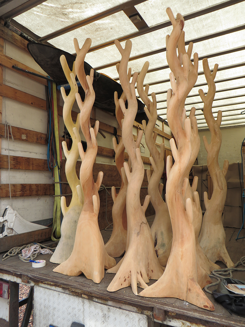 Kapstokbomen nu extra goedkoop......!!!!